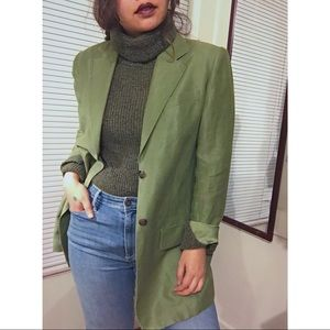 Vintage Green Blazer by Company Ellen Tracy